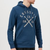 Reebok Men's CrossFit Heritage Hoody - Washed Blue - S - Blue