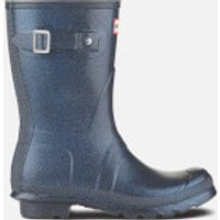 Hunter Womens Original Starcloud Short Wellies - Neptune - UK 7 - Purple