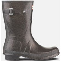 Hunter Women's Original Starcloud Short Wellies - Comet Orange - UK 3 - Brown