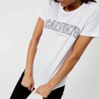 Calvin Klein Womens Tanya T-Shirt - White - XS - White