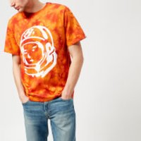 Billionaire Boys Club Mens Bleached Logo T-Shirt - Red Bleached - XXL - Red