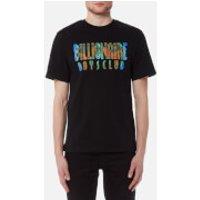 Billionaire Boys Club Mens Scan Graphic Logo T-Shirt - Black - XL - Black
