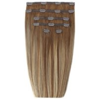 Beauty Works 18 Double Hair Set Clip-in Extensions - Biscuit Balayage 4/27/10