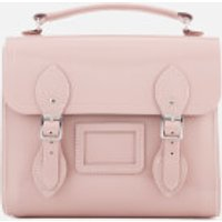 The Cambridge Satchel Company Womens Barrel Backpack - Peach Pink Patent
