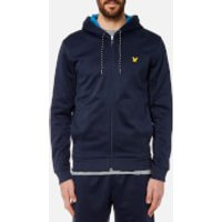 Lyle & Scott Men's Hill Fleece Hooded Track Top - Navy - M - Navy