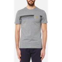 Lyle & Scott Mens Robson Graphic T-Shirt - Mid Grey Marl - XL - Grey