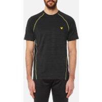 Lyle & Scott Mens Jones Training T-Shirt - True Black - XL - Black