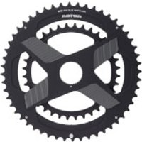Rotor ALDHU Direct Mount Round Chainring - 110 BCD - 53/39T - Black