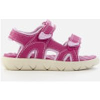 Timberland Toddlers' Perkins Row 2-Strap Sandals - Medium Pink - UK 10 Toddler - Pink