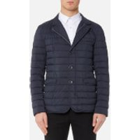 Herno Men's Padded Blazer Jacket - Deep Blue - M/IT 50 - Blue