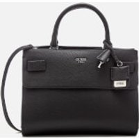Guess Womens Cate Satchel - Black