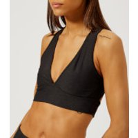 Varley Womens Brooks Crop Top - Charcoal/Black - M - Black
