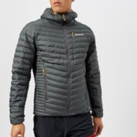 Montane Mens Icarus Jacket - Shadow/Inca Gold - M - Grey