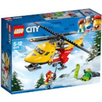 LEGO City Great Vehicles: Ambulance Helicopter (60179) - Helicopter Gifts