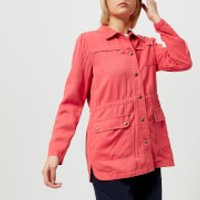 Joules Womens Cassidy Safari Jacket - Red Sky - UK 16 - Red