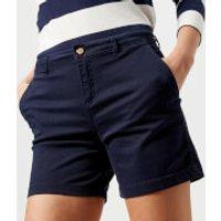 Joules Women's Cruise Chino Shorts - French Navy - UK 12 - Navy