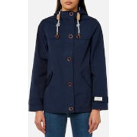 Joules Women's Coast Waterproof Hooded Jacket - French Navy - UK 14 - Navy