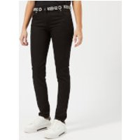 KENZO Women's Superstretch Skinny Jeans - Black - UK 10/EU 38 - Black