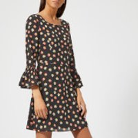 Armani Exchange Floral Print Dress - Small Copper
