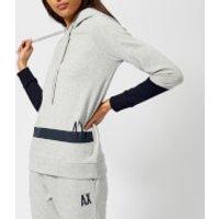 Armani Exchange Womens Hooded Sweatshirt - Grey - S - Grey