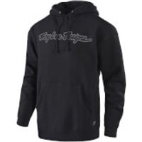 Troy Lee Designs Signature Pullover - Black/Grey - XXL - Black/Grey