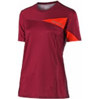 Troy Lee Designs Women's Skyline Short Sleeve Jersey - Burgundy - L - Burgundy