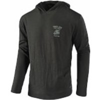 Troy Lee Designs World Pullover - Charcoal - L - Grey