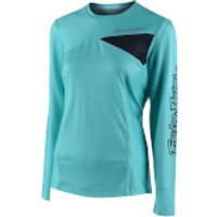 Troy Lee Designs Women's Skyline Jersey - Aqua - L - Blue