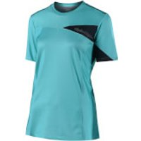 Troy Lee Designs Women's Skyline Short Sleeve Jersey - Aqua - S - Blue