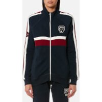 Superdry Womens Trinity Track Top - Captain Navy - L - Navy