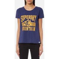 Superdry Womens Jamie Boyfriend T-Shirt - College Navy - S - Navy