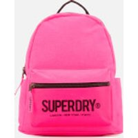 Superdry Womens Block Out Midi Backpack - Pink