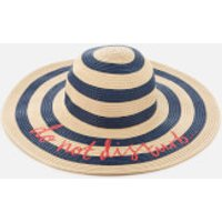 Joules Women's Do Not Disturb Hello Sunshine Sun Hat - Stripe