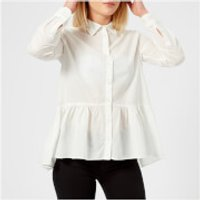 Emporio-Armani-Womens-Shirt-Grey-IT-46UK-16-Grey