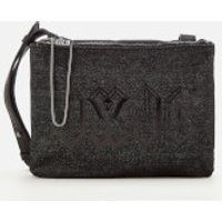 Juicy Couture Womens Arianna Cross Body Bag - Black Denim