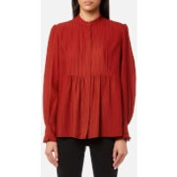 A-P-C--Womens-Carousel-Shirt-Brique-EU-40UK-12-Red
