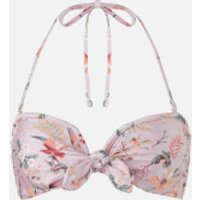 MINKPINK Women's Summer Meadow Tie Front Top - Multi Floral - S - Multi