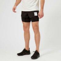 Satisfy Men's Short Distance 8 Inch Shorts - Black Silk - L - Black