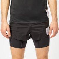Satisfy Men's Short Distance 8  Shorts - Black Silk - L - Black