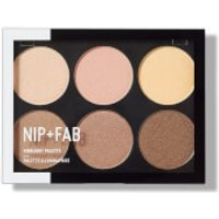 NIP+FAB Make Up Highlight Palette - Stroposcobic 20g