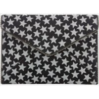 Rebecca Minkoff Womens Leo Clutch Bag - Black