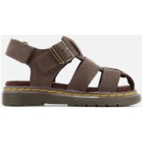 Dr. Martens Toddlers' Moby Wyoming Sandals - Dark Brown - UK 3 Toddler - Brown