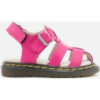 Dr. Martens Toddlers Moby Lamper Sandals - Hot Pink - UK 4 Toddler - Pink