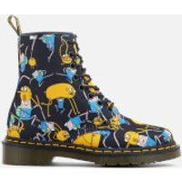 Dr. Martens Toddlers Castel Character Canvas Lace Low Boots - Multi - UK 5 Toddler - Multi