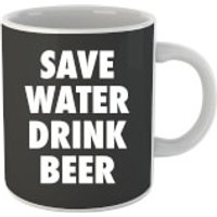 Beershield Save Water Drink Beer Mug - Beer Gifts