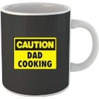 Caution Dad Cooking Mug - Cooking Gifts