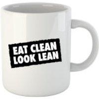Taza  Eat Clean Look Lean