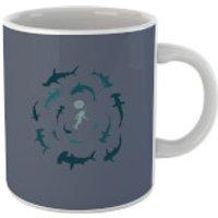 Sharks Scoober Diver Mug - Diver Gifts