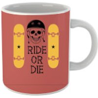 Ride or Die Skateboard Mug - Skateboard Gifts