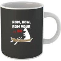 Row Row Row Your Boat (white) Mug